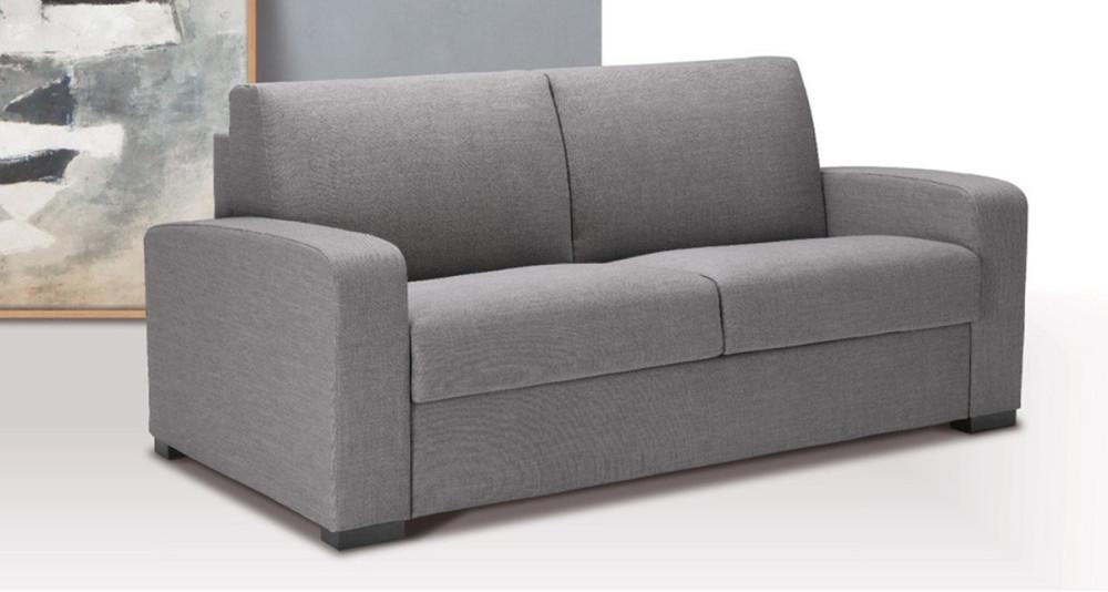 Canapé-lit ou fixe avec accoudoirs inclinés Foggia