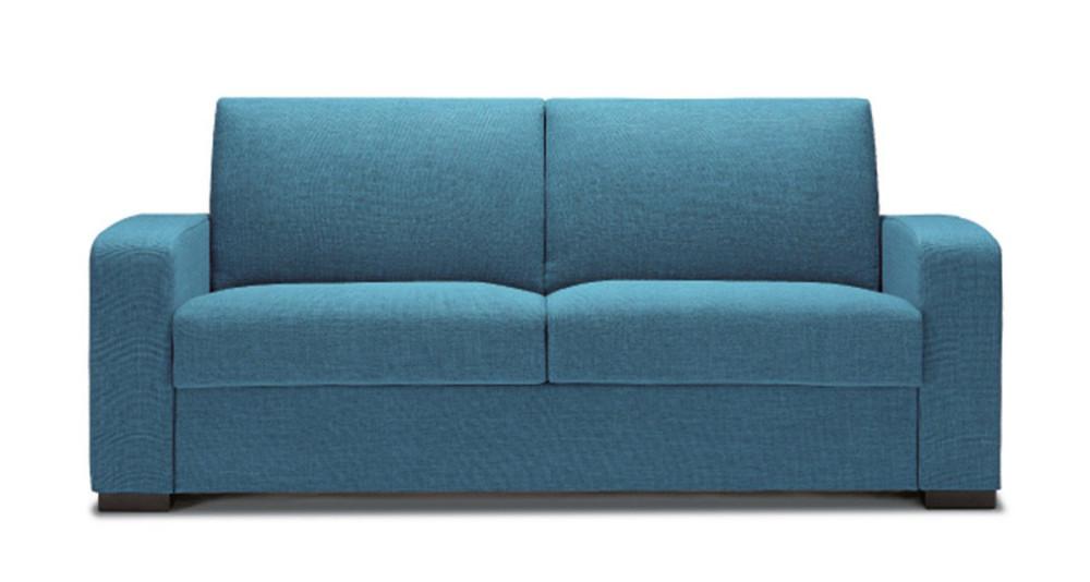 Canapé-lit ou fixe avec accoudoirs inclinés Corinne