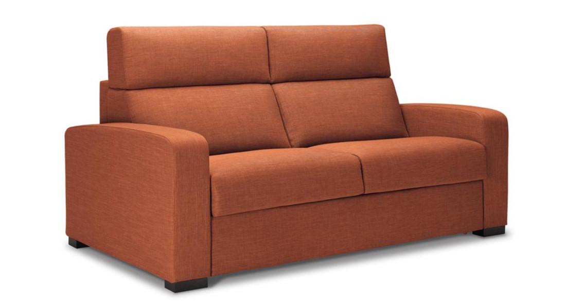 canap moderne fixe ou lit convertible avec dossier haut anita. Black Bedroom Furniture Sets. Home Design Ideas