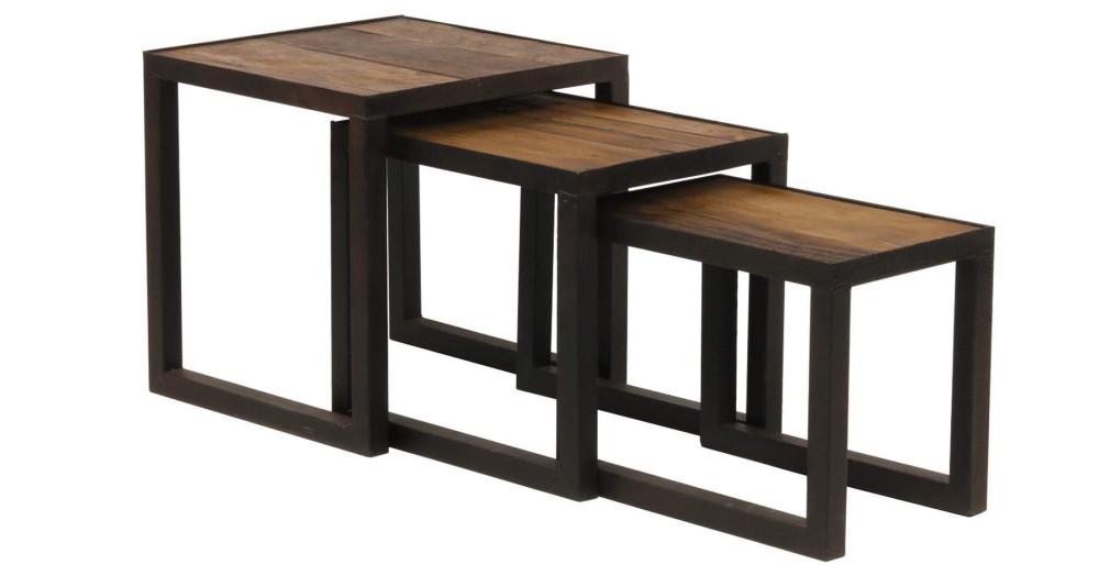 Set tables basses gigognes Crozier