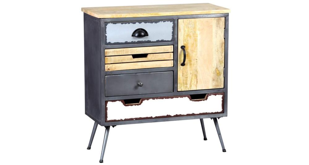 Cabinet en métal et bois Faktory