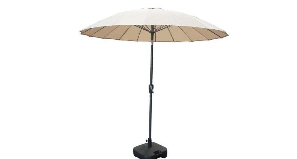 Parasol rond inclinable style asiatique Saïgon