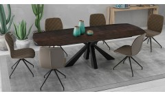 Grande table en céramique extensible 200 - 260 cm Calgary