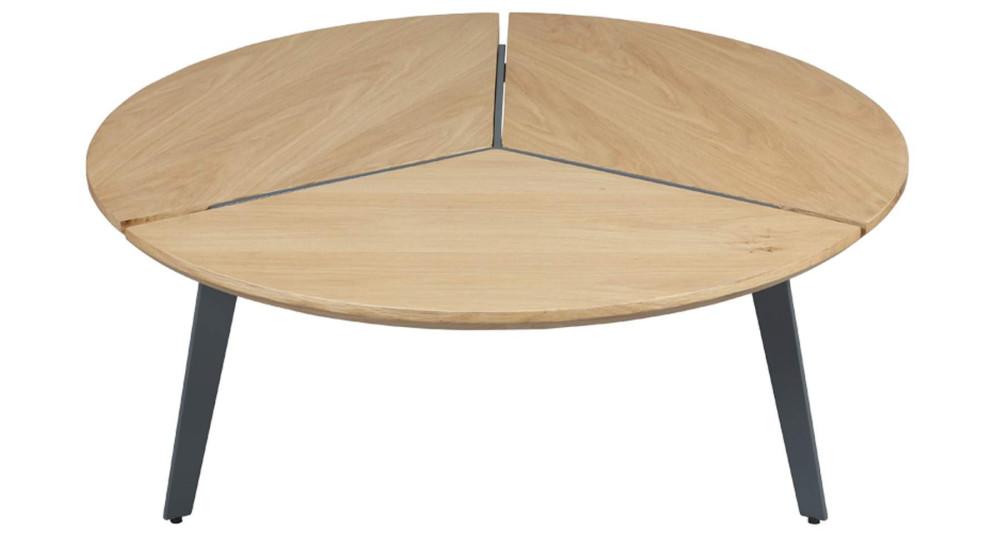 Table basse ronde diamètre 85 cm Yuliana