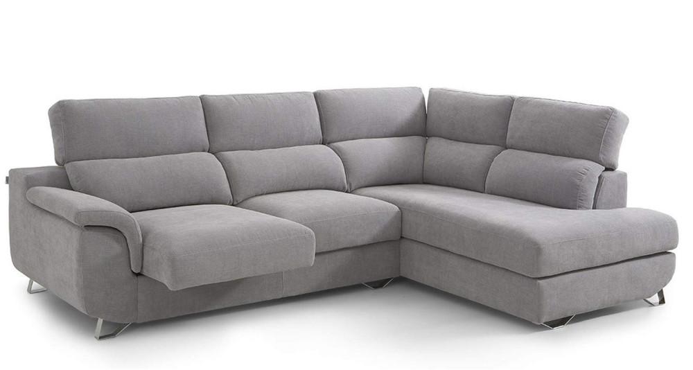 Canapé d'angle coulissant et inclinable Celestina