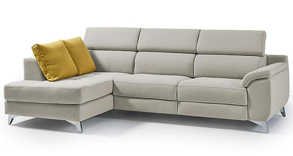 Canapé d'angle à assises fixes ou relax électrique Cramberries