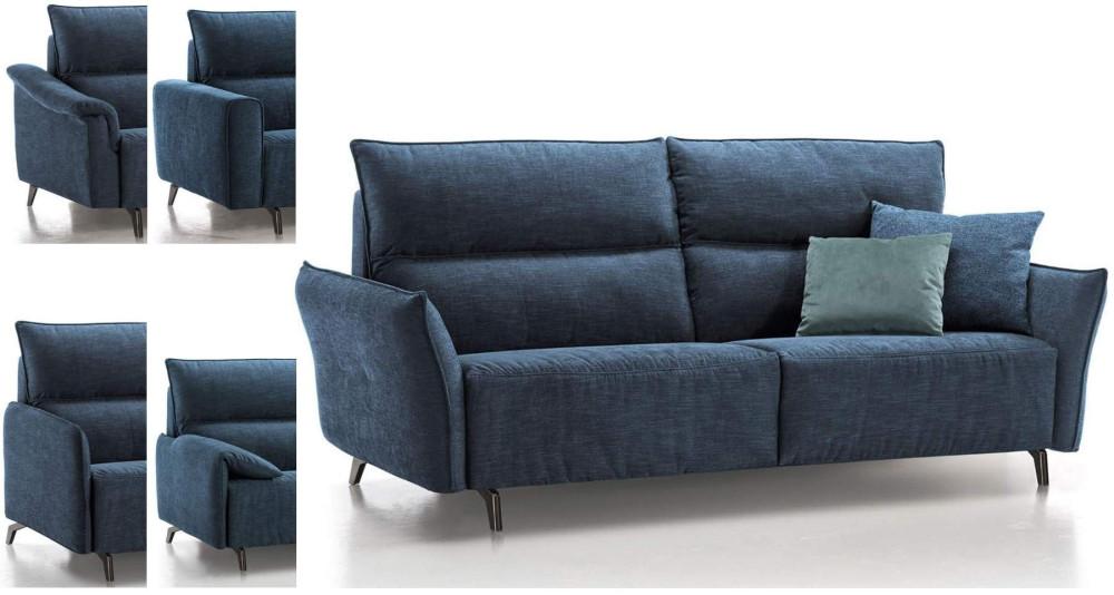 Canapé convertible Giulia grand confort