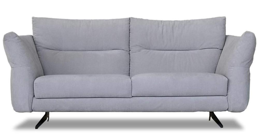 Canapé moelleux avec dossier inclinable Carlotta