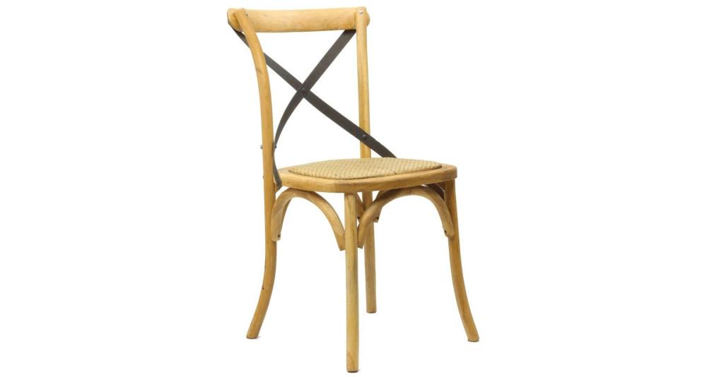 Chaise de bistrot naturelle Montmartre