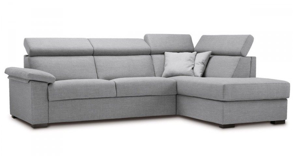Canapé d'angle cosy dossier haut Alba