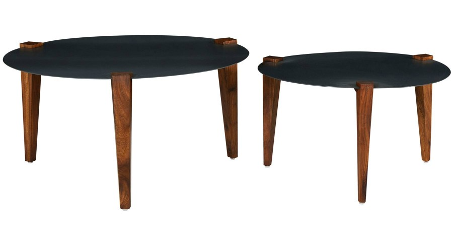Lot de 2 Tables Basses Reda