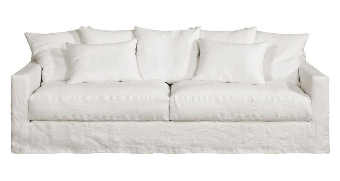canap en lin froiss moelleux boh me home spirit personnalisable. Black Bedroom Furniture Sets. Home Design Ideas