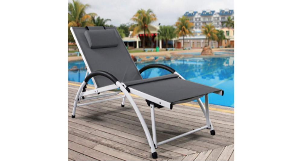 Chaise longue multi positions Tropiques