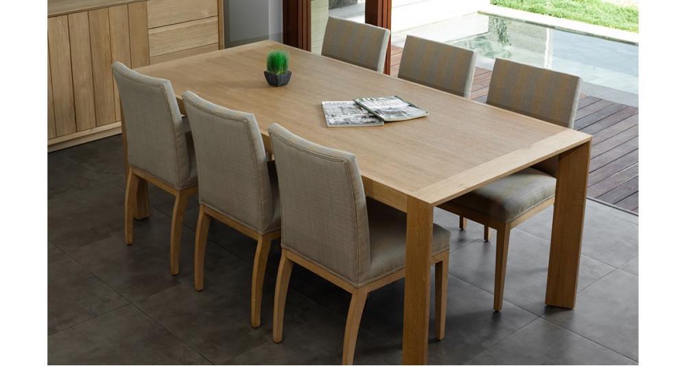 Table chêne massif 200 cm Kimberley