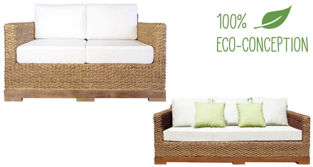 Canapé biologique écologique Authentic