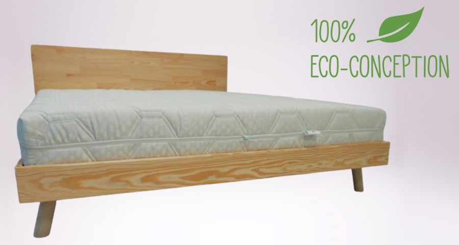 Matelas Terra Hevea latex 100% naturel - 7 zones confort