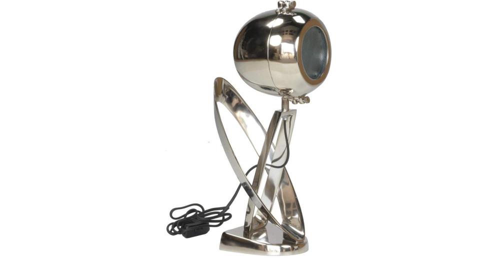 Lampe phare de moto chromé Loving