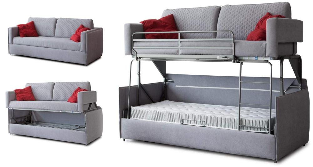 Canapé escamotable avec lit superposé Basilique
