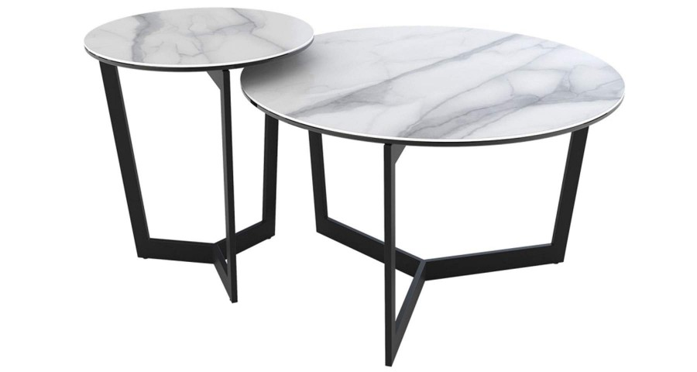 Table basse diamètre 90 cm Clayette