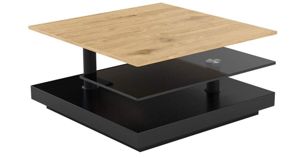 Table basse pivotante Couronne