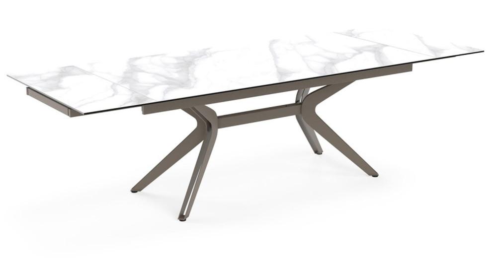 Table XL à rallonge en céramique Electrical - 4 coloris