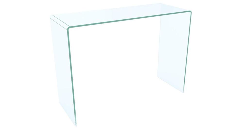 Console 90 cm en verre Alice - 6 coloris