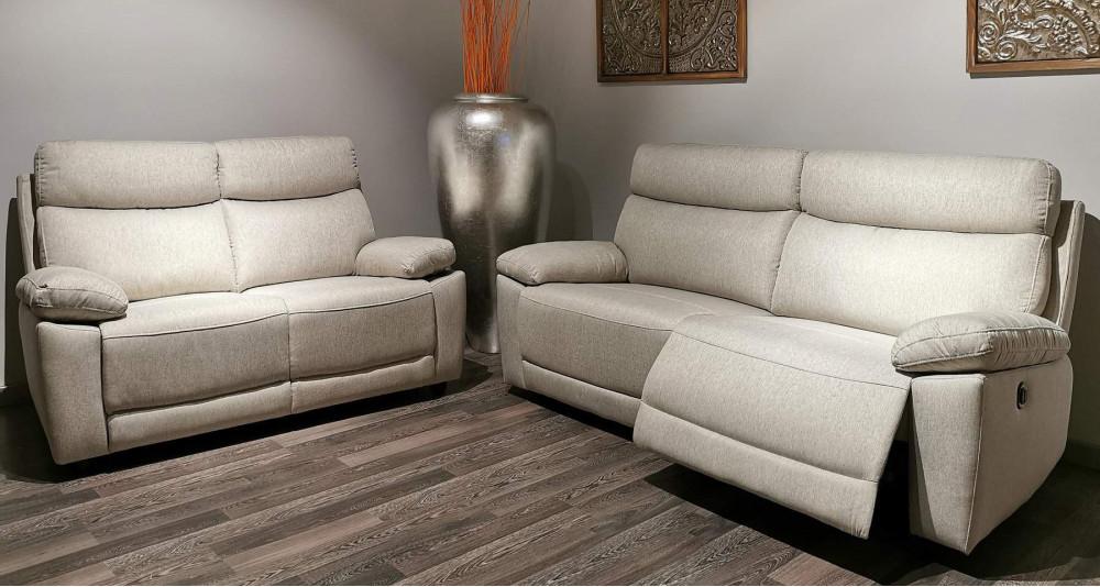 Canapé relax électrique pour 3 personnes Gibraltar