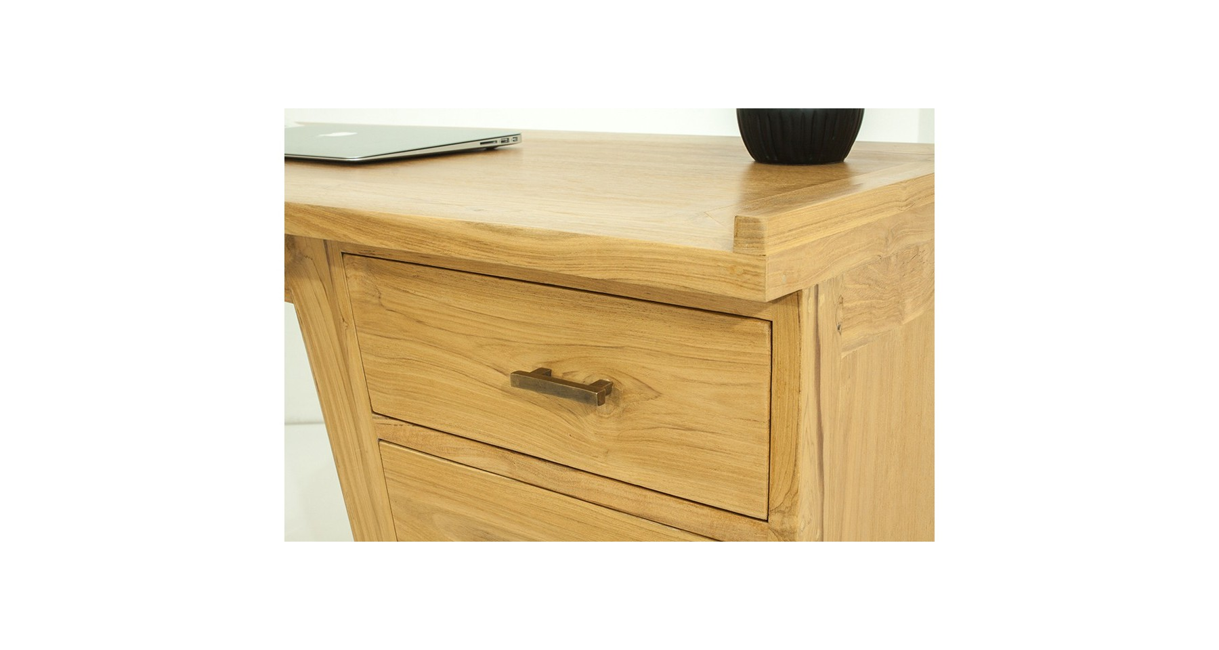 Table bureau bois beautiful bureau bois et metal bureau bois