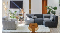 Chauffeuse d'angle pour sofa modulable Quiberon