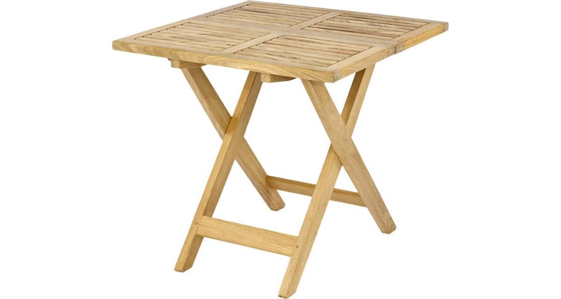 Petite Table Basse De Jardin Pliante En Chene Massif Roble