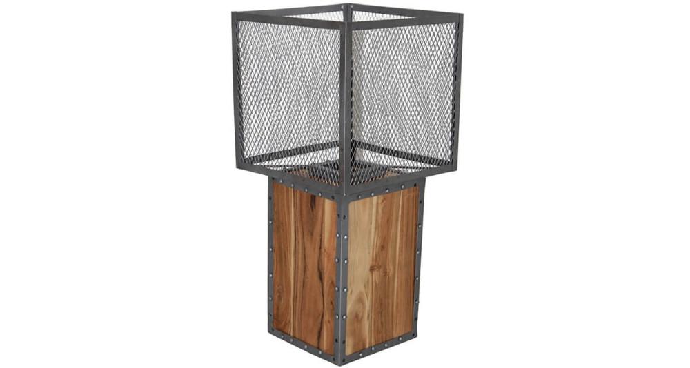 Lampe industrielle bois et métal Pinehurst