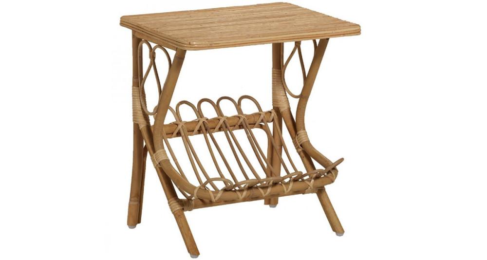Table de chevet Lydie naturel