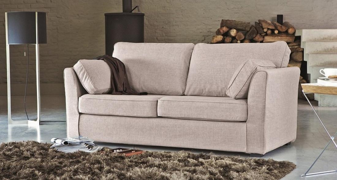 canap en tissu fixe ou convertible charlotte home spirit. Black Bedroom Furniture Sets. Home Design Ideas