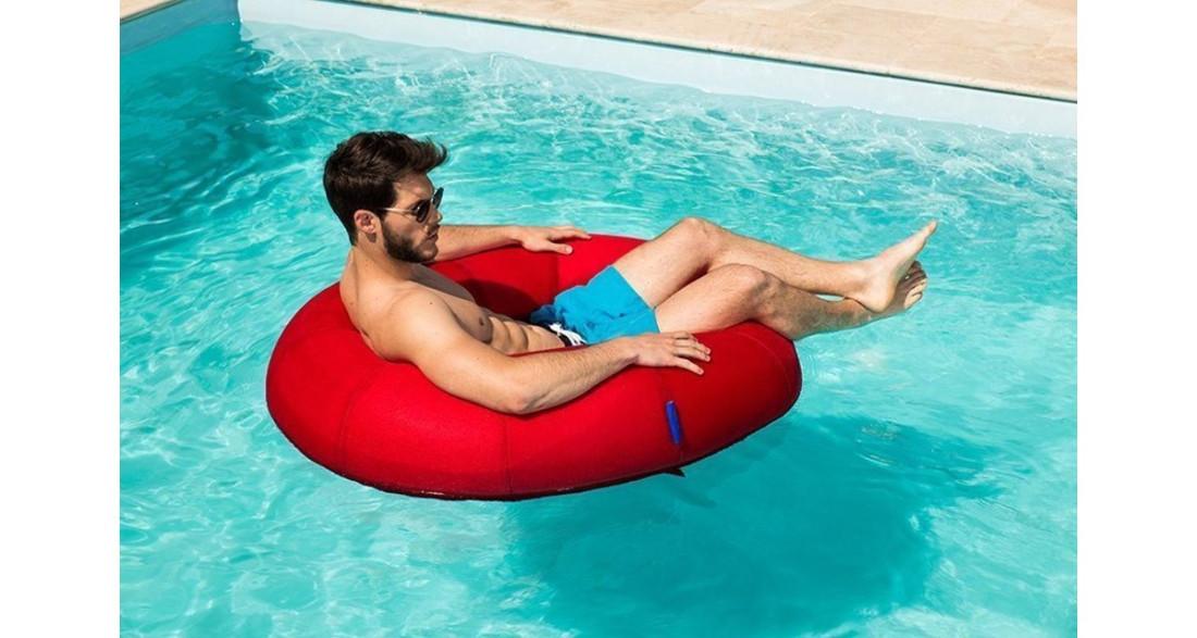 pouf de piscine rond donut swimming bag jumbo bag. Black Bedroom Furniture Sets. Home Design Ideas