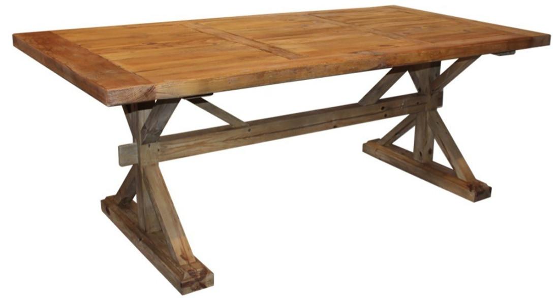 Table de ferme en bois ancien 12 cm Irvine Farm