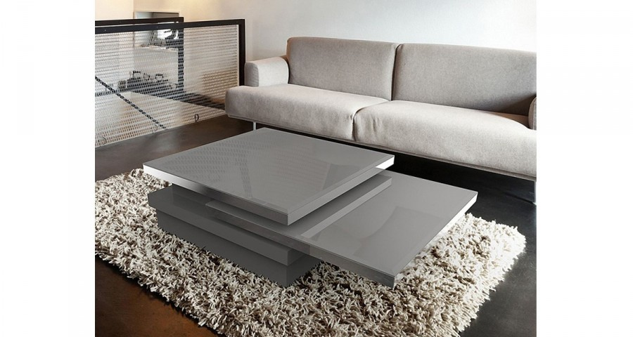 Table basse contemporaine modulable Celestine - 4 coloris