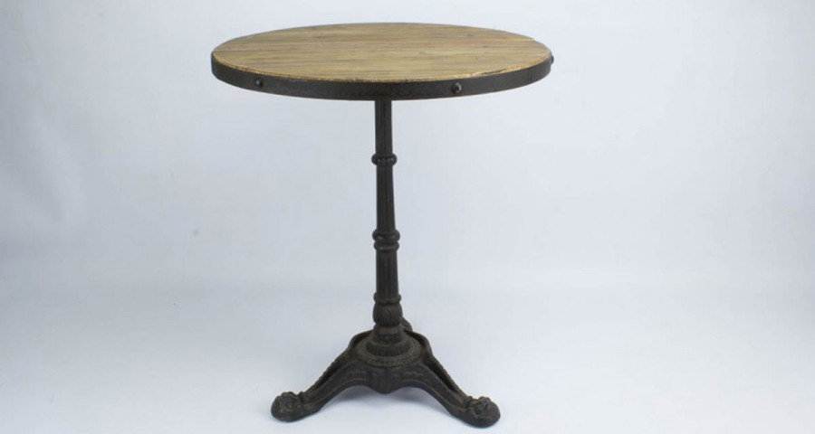 Table de bar ronde type bistrot Brackley