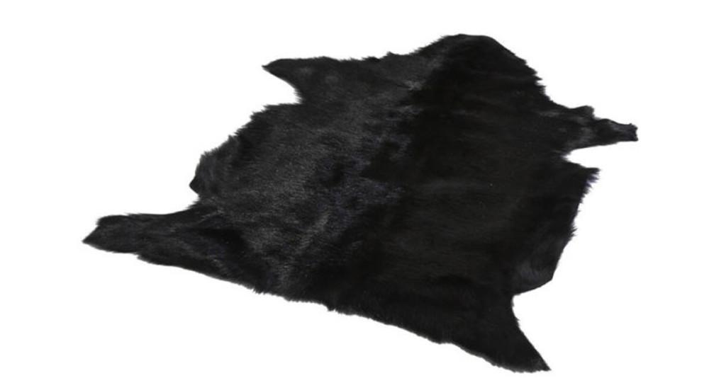 Lot 2 tapis en peau de chèvre 60 x 90 cm Djaly