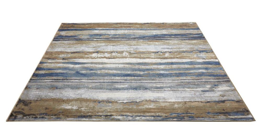Tapis Abstrait en viscose effet dégradé - 2 coloris