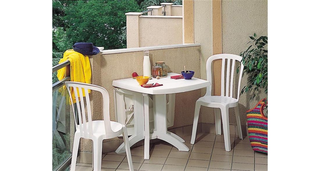 Lot 56 Chaises de jardin empilables Miami Bistrot Grosfillex