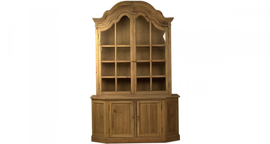 biblioth que classique en vieux bois fullerton. Black Bedroom Furniture Sets. Home Design Ideas