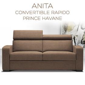 Canapé convertible Anita magasin
