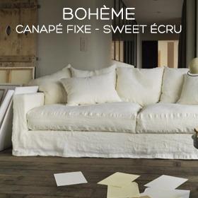 Canapé en lin Bohème Marseille
