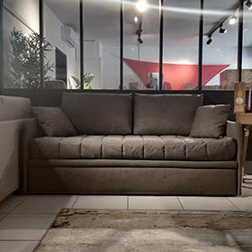 Canapé-lit gigogne Dieppe