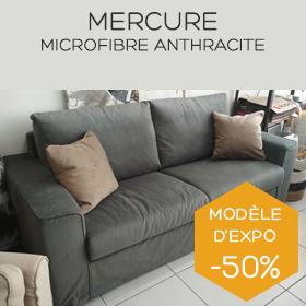 Canapé en microfibre Mercure boutique Marseille