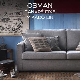 Canapé peu profond Osman