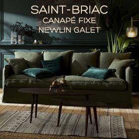 Canapé moelleux Saint-Briac