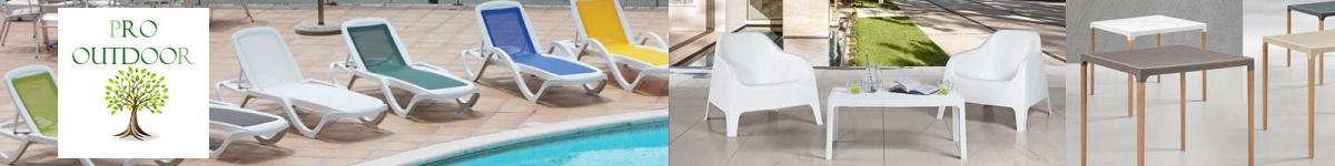 Pro Outdoor mobilier de jardin et d'extérieur pour les professionnels. Mobilier bar restaurants hôtels.