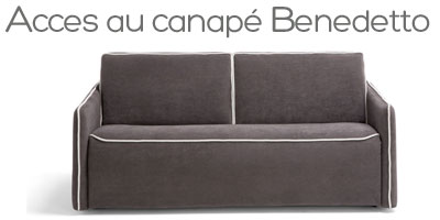 Canapé lit Benedetto Dienne