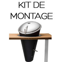 Kit Montage barbecue Cone Höfats